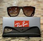 Ray-Ban Justin Sunglasses RB4165 710/13 Telaio tartarugato 54mm / lente marrone sfumata!