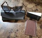 Persol Occhiali da sole realizzati a mano marrone screziato telaio 3027-S 964/86 NUOVO W / CASE