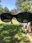 Occhiali da sole Persol autentici 2607-S 51/17 lenti in vetro grigio polarizzato montatura nera