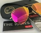 RAY BAN AVIATOR RB 3025 112 / 4T 58mm Pink MIRROR