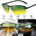 Occhiali da sole Polarizzati HD Day & Night Vision Tac Occhiali da sole Pilot Aviator da pilota