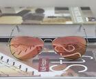 Occhiali da sole Ray Ban RB3025 019 / Z2 Montatura argento opaco Lenti rosa specchio coper 55mm