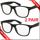 Occhiali da sole trasparenti stile nerd 2 paia Occhiali da sole stile retrò da donna per uomo
