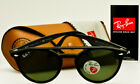 RAY-BAN ROUND POLARIZED RB4279 601 / 9A Nero-Classic Verde Polar 51mm * AUTENTICO *